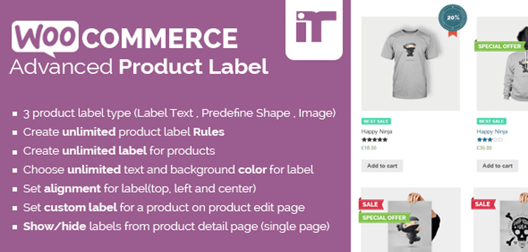 Item cover for download WooCommerce Advanced Product Label