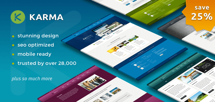 Item cover for download Karma - Responsive WordPress Theme
