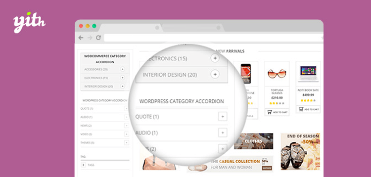 Item cover for download YITH WooCommerce Category Accordion Premium