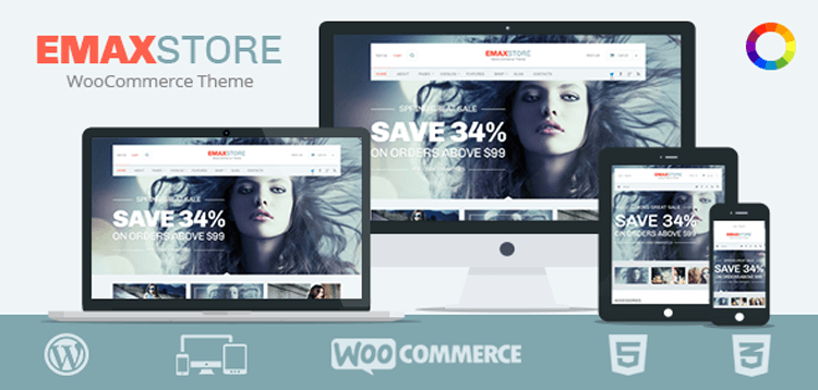 Item cover for download MyThemeShop eMaxStore WordPress Theme