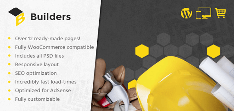 Item cover for download MyThemeShop Builders WordPress Theme