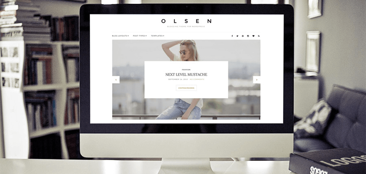 Item cover for download CSSIgniter Olsen WordPress Theme