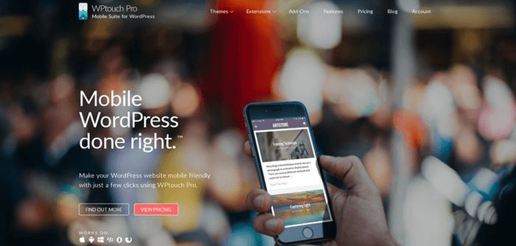 Item cover for download WPtouch Pro - Mobile WordPress done right