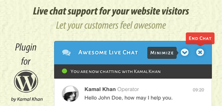 Item cover for download Awesome Live Chat