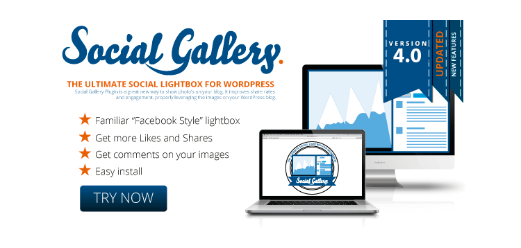 Item cover for download Social Gallery WordPress Photo Viewer Plugin