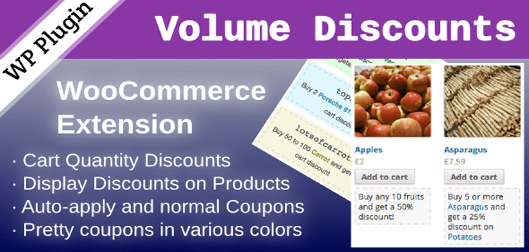 Item cover for download WooCommerce Volume Discount Coupons