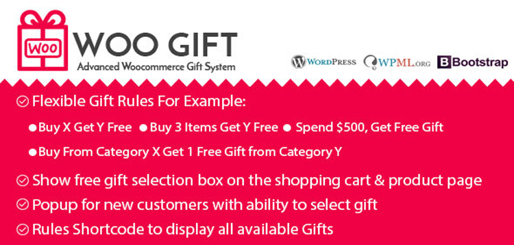 Item cover for download Woo Gift : Advanced Woocommerce Gift Plugin