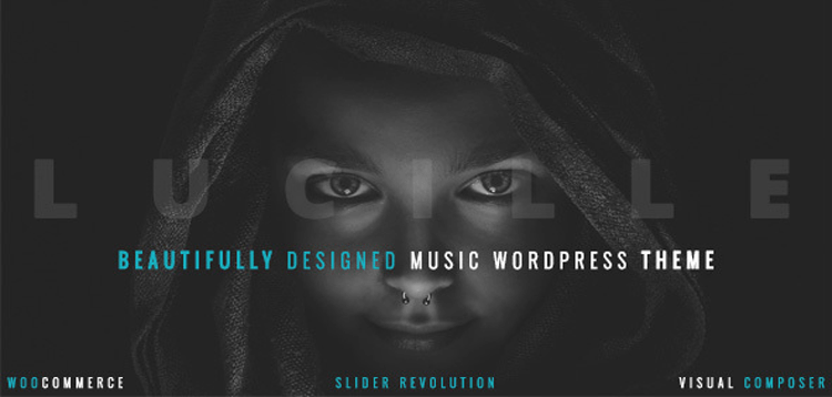 Item cover for download Lucille - Music WordPress Theme