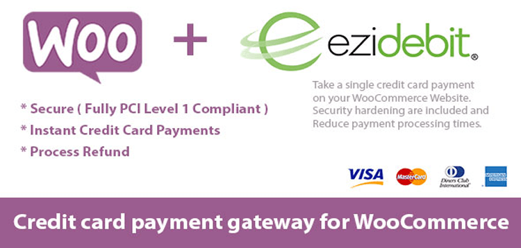 Item cover for download WooCommerce Ezidebit Gateway