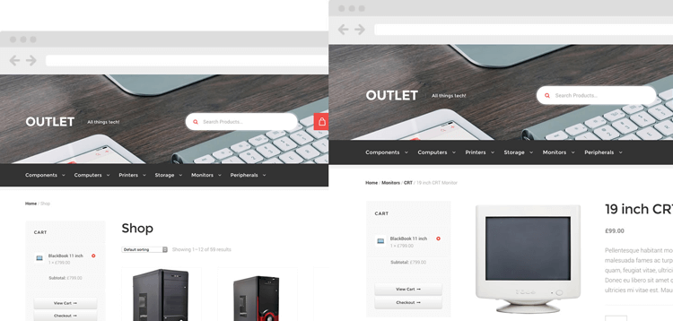 Item cover for download WooThemes Outlet Storefront WooCommerce Theme