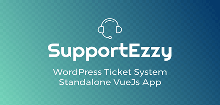 Item cover for download SupportEzzy - WordPress Ticket System