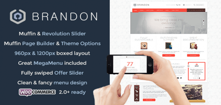 Item cover for download Brandon - Responsive Multi-Purpose WordPress Theme