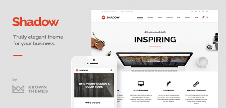 Item cover for download Shadow - Responsive  Retina Multi-Purpose Theme