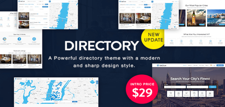 Item cover for download Directory | Multi-purpose WordPress Theme