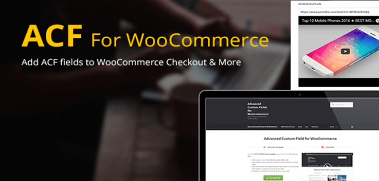 Item cover for download Advanced Custom Fields for WooCommerce