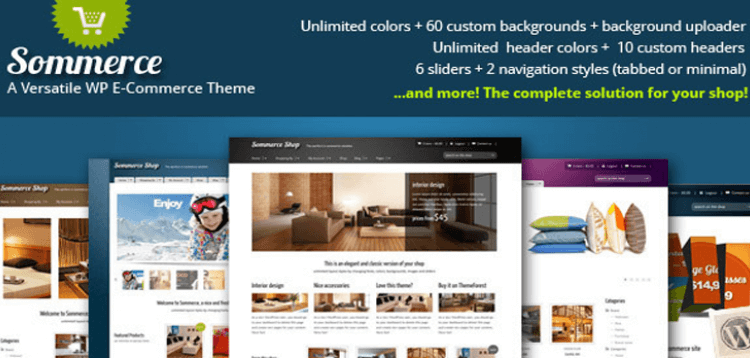 Item cover for download Sommerce Shop - A Versatile E-commerce Theme