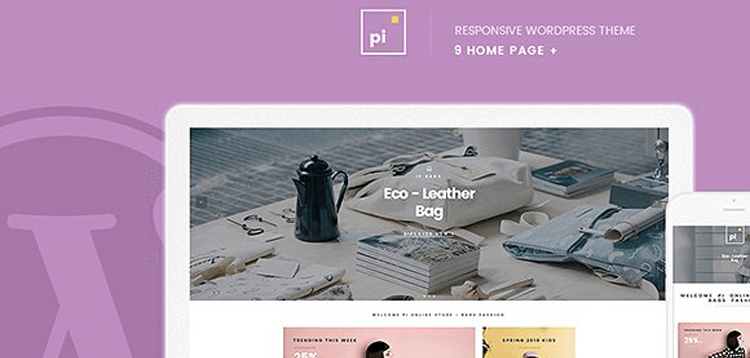 Item cover for download Pi - WooCommerce WordPress Theme