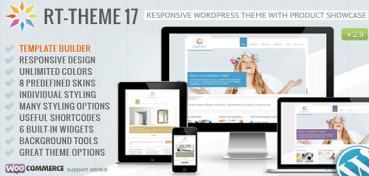 Item cover for download RT-Theme 17 Responsive Wordpress Theme
