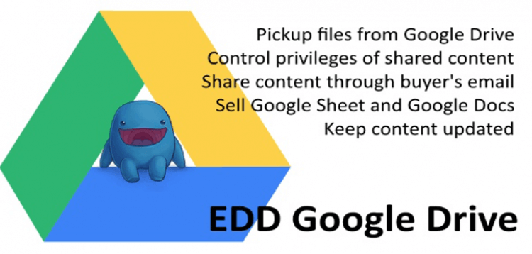 Item cover for download EDD Google Drive