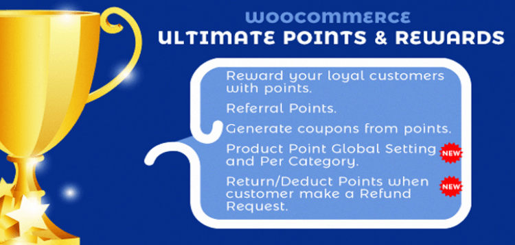Item cover for download CodeCanyon - WooCommerce Ultimate Points And Rewards