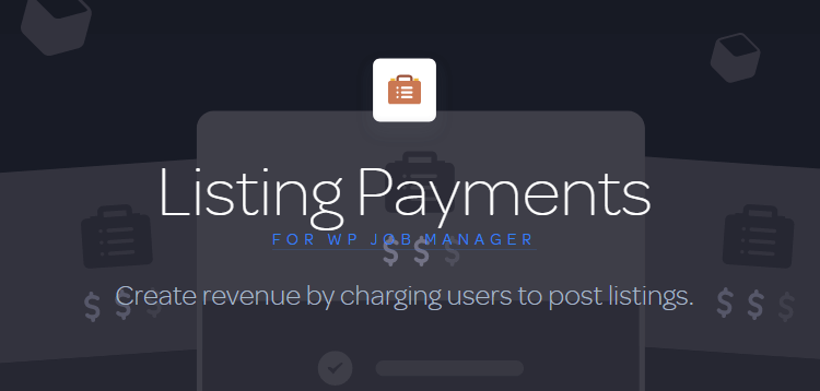 Item cover for download Listing Payments for WP Job Manager