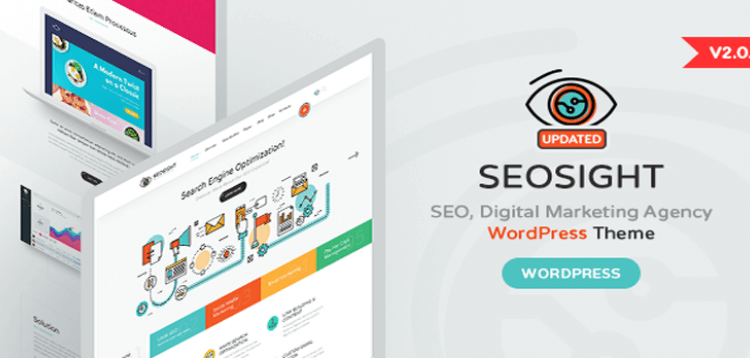 Item cover for download Seosight - SEO, Digital Marketing Agency WP Theme with Shop