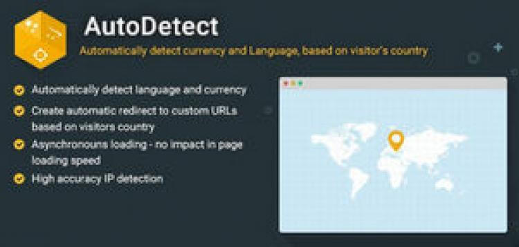 Item cover for download AutoDetect - Automatically Detect Currency and Language