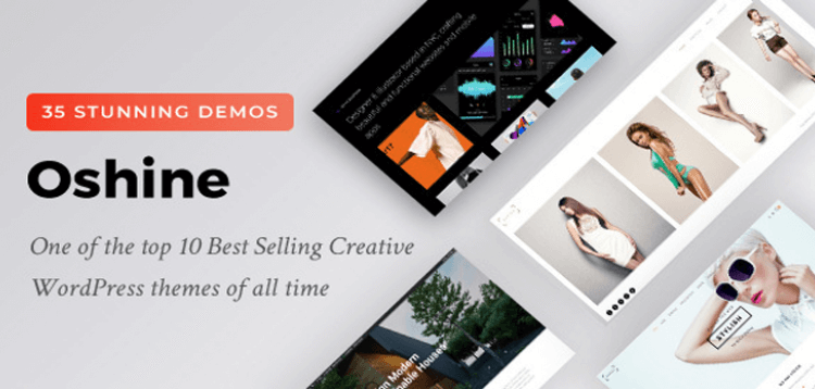 Item cover for download Oshine - Multipurpose Creative Theme