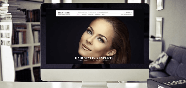 Item cover for download CSSIgniter The Styler WordPress Theme