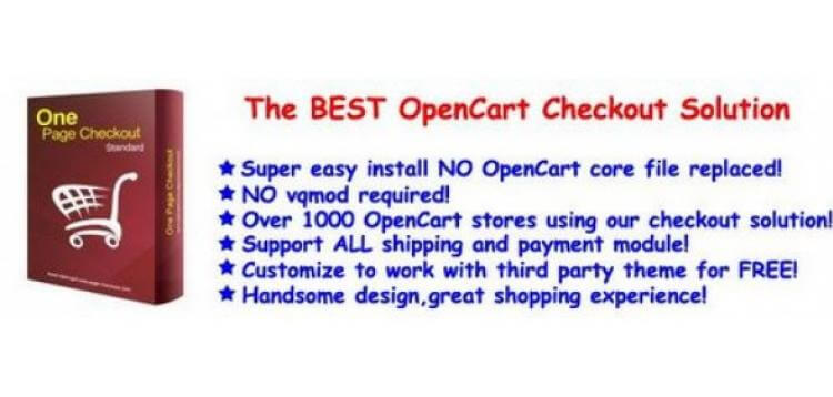 Item cover for download One Page Checkout Opencart
