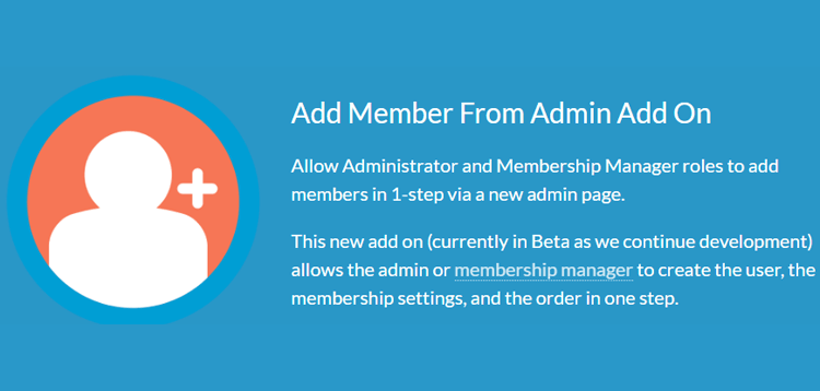 Item cover for download Paid Memberships Pro - Add Member From Admin Add On