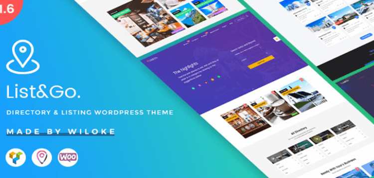 Item cover for download ListGo - Directory WordPress Theme