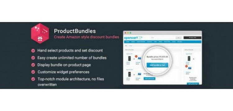Item cover for download ProductBundles - Create Amazon style discount bundles OpenCart