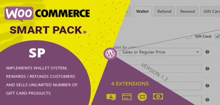 Item cover for download WooCommerce Smart Pack - Gift Card, Wallet, Refund  Reward