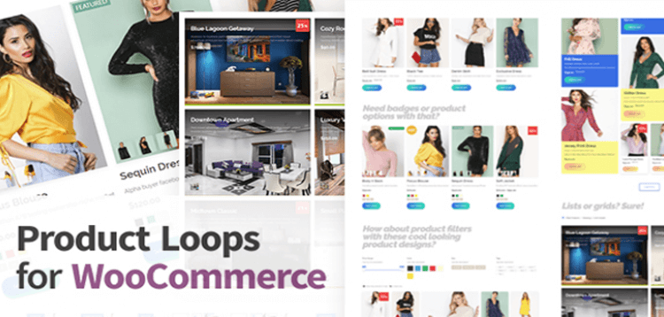 Item cover for download Product Loops for WooCommerce - 100+ Awesome styles and options for your WooCommerce products