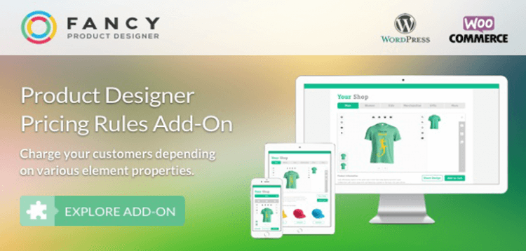 Item cover for download Fancy Product Designer Pricing Add-On | WooCommerce WordPress