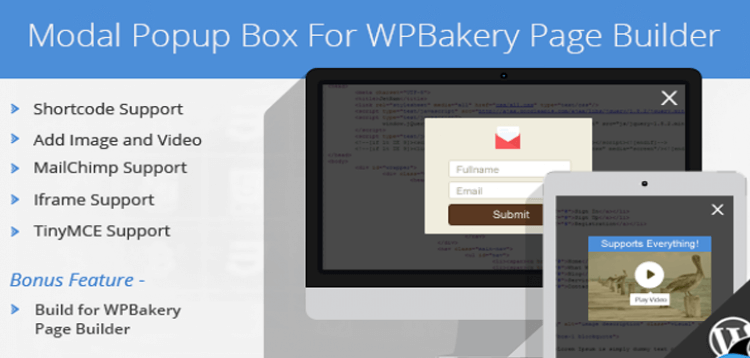 Item cover for download Modal Popup Box For WPBakery Page Builder