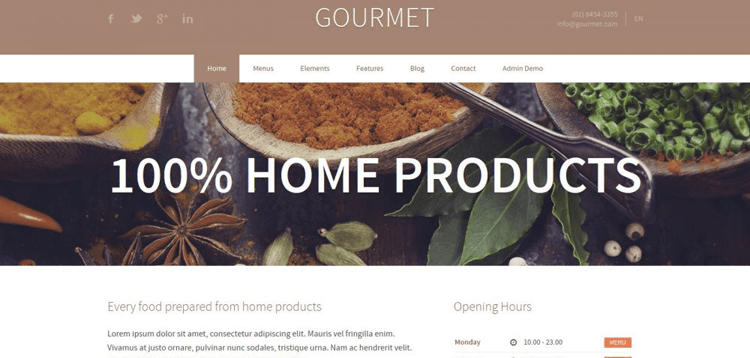 Item cover for download AIT - Gourmet WordPress Theme