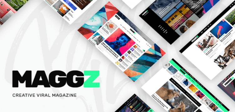 Item cover for download Maggz - A Creative Viral Magazine and Blog Theme
