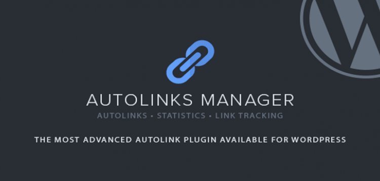 Item cover for download CodeCanyon Autolinks Manager