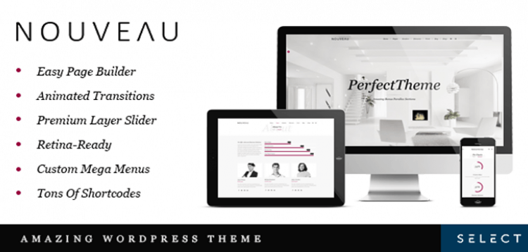 Item cover for download Nouveau - Multi-Purpose Retina WordPress Theme