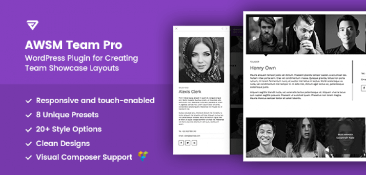 Item cover for download The Team Pro - Team Showcase WordPress Plugin