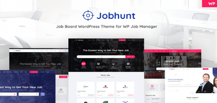 Item cover for download Jobhunt - Job Board WordPress theme for WP Job Manager