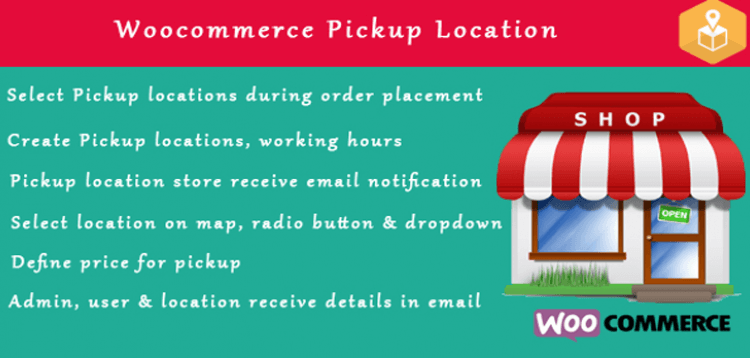 Item cover for download Woocommerce Pickup Locations (Local Pickup) wordpress plugin