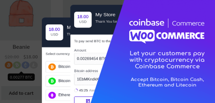Item cover for download Coinbase Commerce for WooCommerce