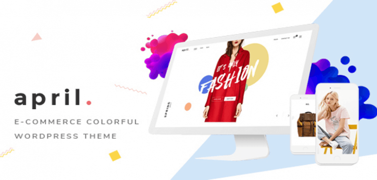 Item cover for download APRIL - Wonderful Fashion WooCommerce WordPress Theme