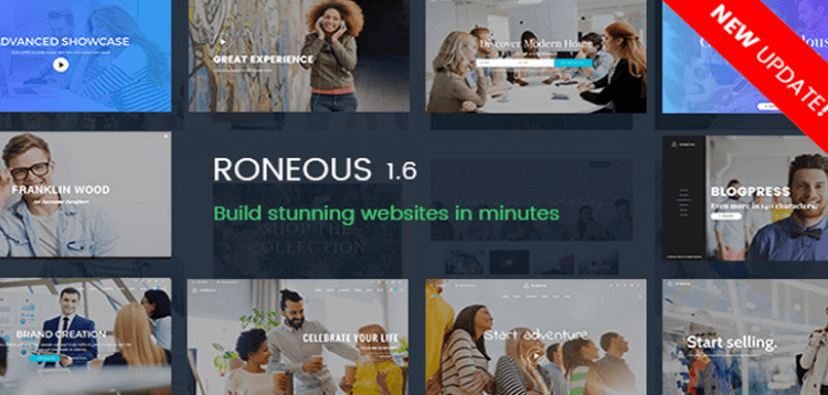 Item cover for download Roneous - Creative Multi-Purpose WordPress Theme