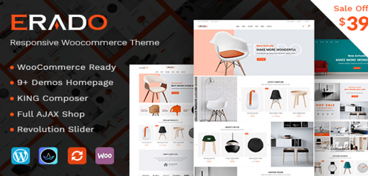 Item cover for download Erado - eCommerce WordPress Theme