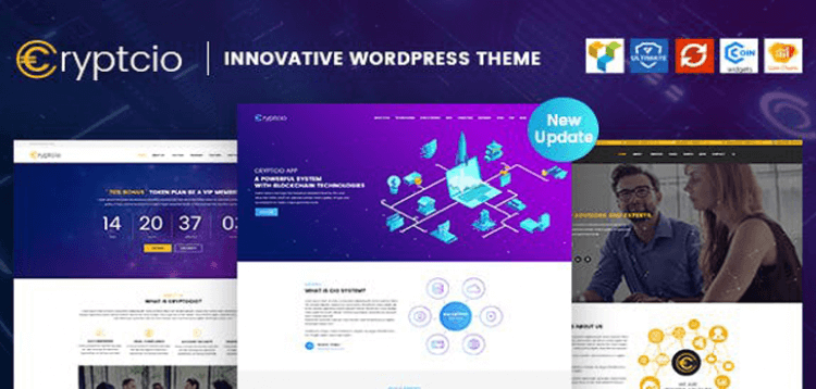 Item cover for download Cryptcio - Innovative WordPress Theme