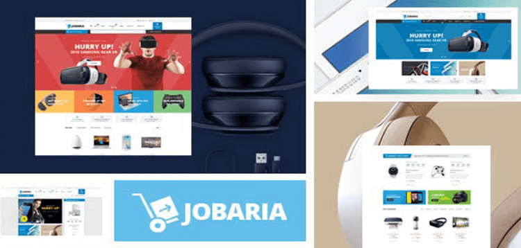 Item cover for download Jobaria - Technology Theme for WooCommerce WordPress